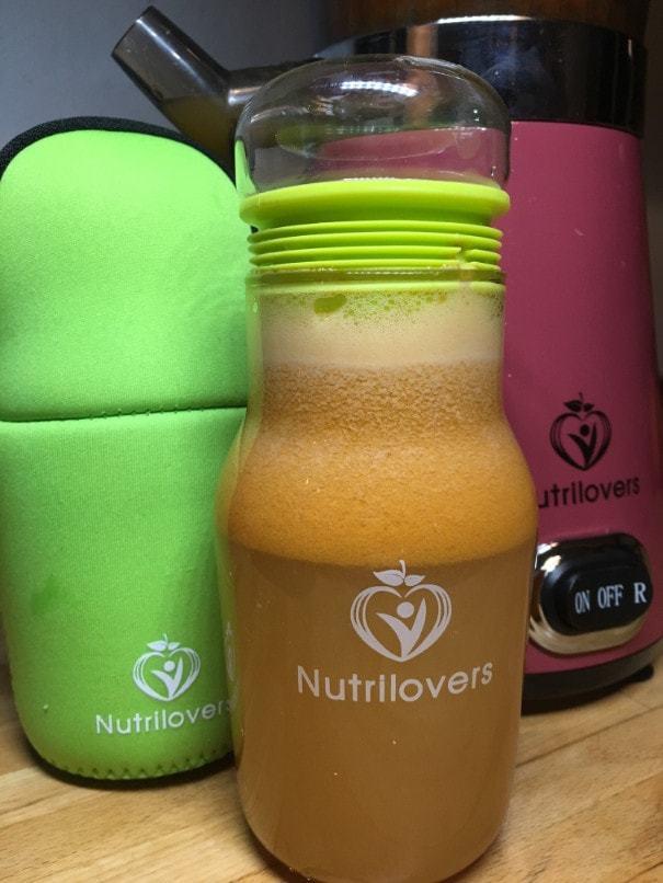 Nutrilovers Saftflasche