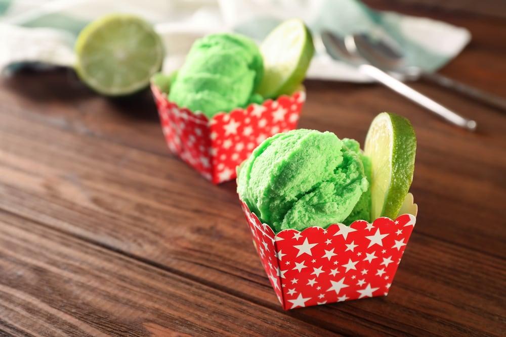 Grünes Smoothie Eis Mixer